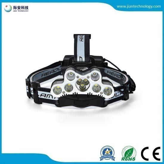 Multiple 9 T6 XPE LED USB Chargeing 2X 18650 Battery LED Headlamp