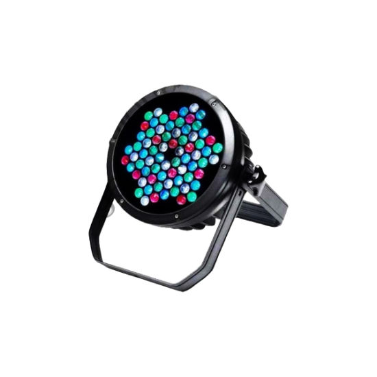 Um-L135e New 2014 LED 72 PAR Light Electronic Light From 0-100% High Speed, White or Colored Strobe Protocol Usitt DMX-512 8CH