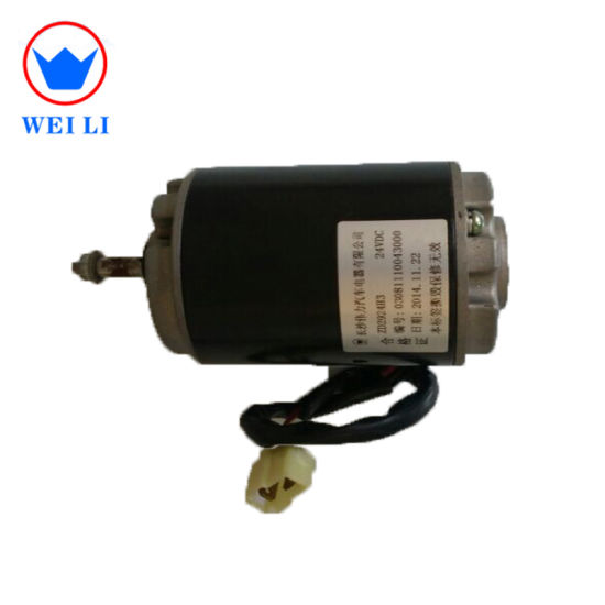 China High Speed Air Conditioner Evaporator Fan Motor pictures & photos
