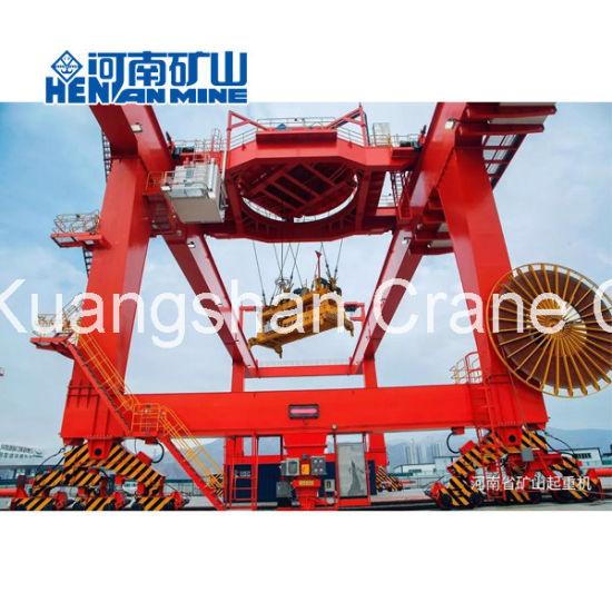 Rail-Mounted Double Girder Gantry Crane 40 Ton