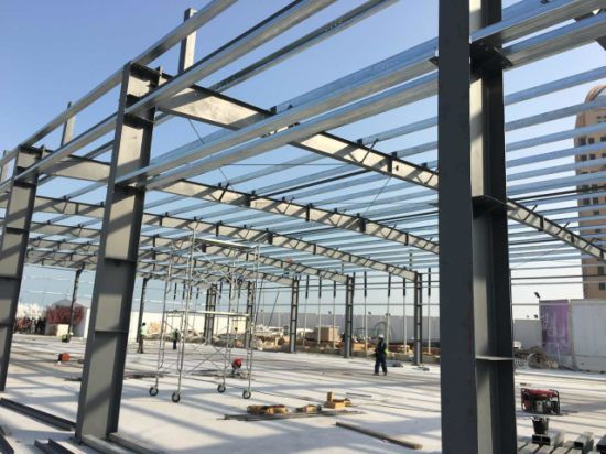Brand Steel Structure Car Showroom and Heavy Steel Structure Automobile Hall pictures & photos