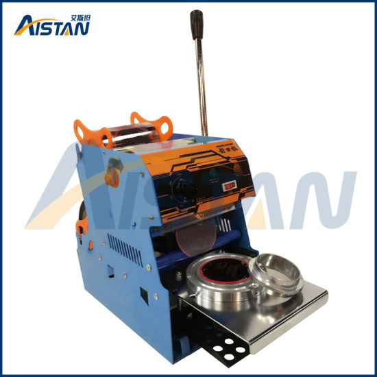 Wy-806A Commercial Manual Cup Sealing Machine with Counter for Liquid  Filling Machine