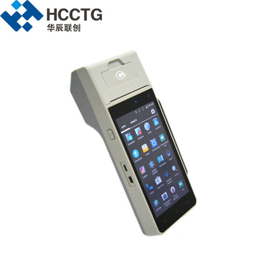 Hcc-Z90 Shenzhen 4G Android POS NFC Magnetic Msr Contact Chip with Sdk