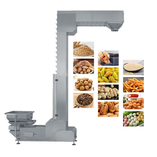 Food Almond Grain Stainless Steel Z Bucket Conveyor Elevator