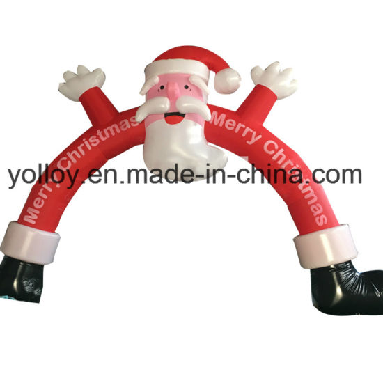 Santa Claus Arch Inflatable for Christmas Party Decoration pictures & photos