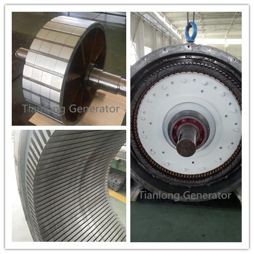 Ffl-200kw/100rpm/AC690V Permanent Magnet Alternator (PMG/PMA/Hydro) pictures & photos
