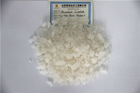 Directly Factory Sale Best Quality Granular Aluminium Sulfate for Water Treatment