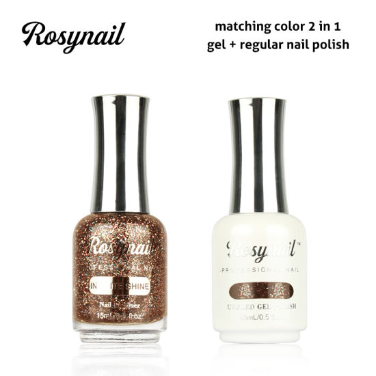 Whole Profession 2 In 1 Color Matching Uv Gel Nail Polish