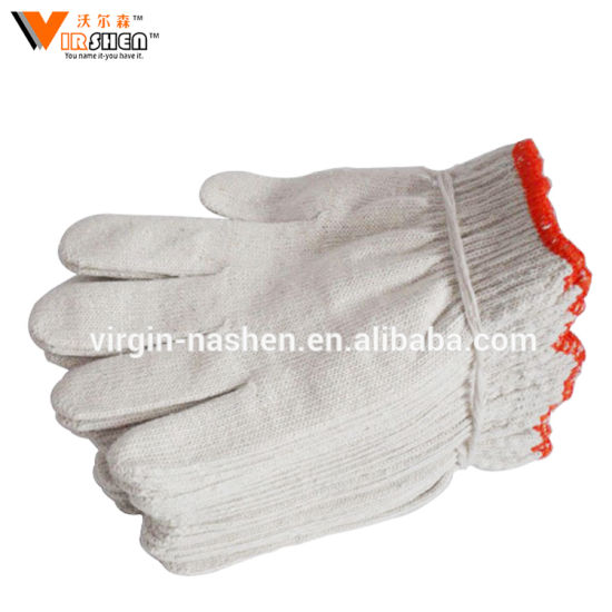 Cheap Price Engineering Industrial Security Cotton Hand Protective Gloves pictures & photos