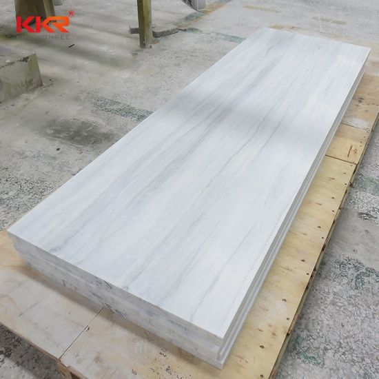Black and White Marble Countertop Material Corian Acrylic Solid Surface pictures & photos