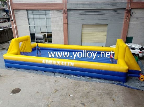 Inflatable Soap Football Field with Inflatable Floor pictures & photos