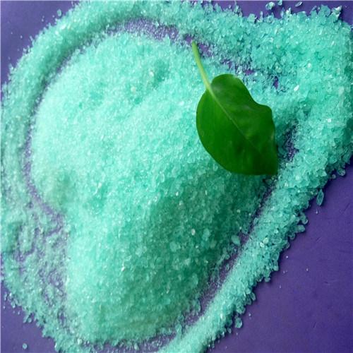 98% Ferrous Sulphate CAS 7720-78-7 Iron Sulfate Manufacturer