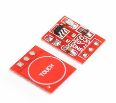 Ttp223 Touch Button Module Single Channel Self Locking Touch Switch Sensor