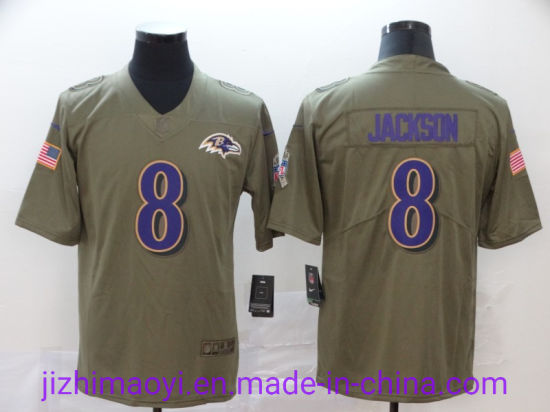 China Wholesale Custom Ravens Lamar Jackson Ronnie Stanley Marlon ...