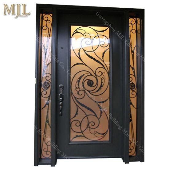 Strong Iron Grill Door Designs Wrought Iron Door