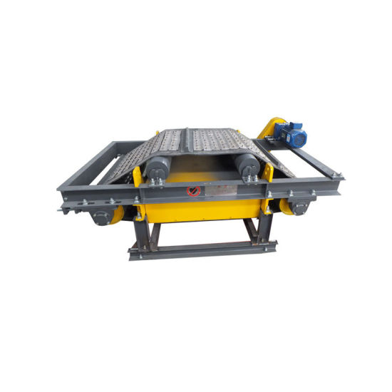 Overband Iron Remover Permanent Magnetic Separator for Conveyor Belt
