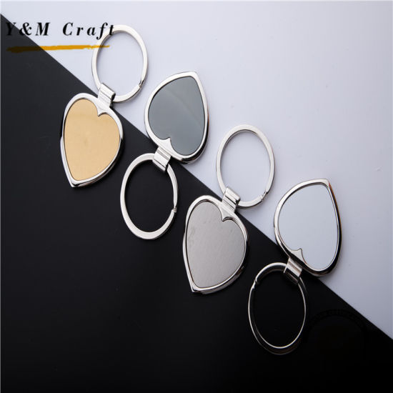 f968db0a03 Wholesale Custom Avengers Metal Blank Sublimation Motorcycle Hotel Key Chain  Couple Heart Keychain pictures & photos