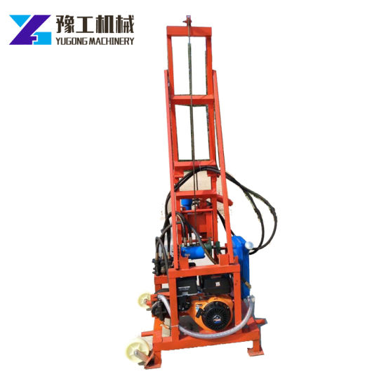 Chinese Portable Small Deep Water Well Drilling Rig Machine for Sale