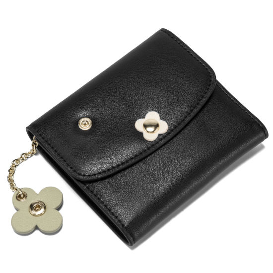Women Fashion Purse Designer Genuine Cow Leather Wallet pictures & photos