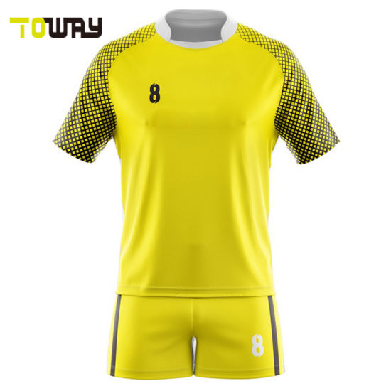 1e99ce7e5b4 100% Polyester Breathable Blank Rugby Jersey Custom Teenager School Team Rugby  Shirt