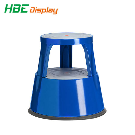 Fabulous Metal 2 Step Round Rolling Kick Stool For Library China Cjindustries Chair Design For Home Cjindustriesco