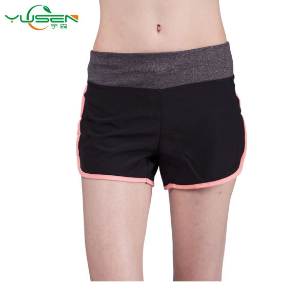 Moisture Absorbing Comfortable Fabric Women Sports Wear Yoga Pants pictures & photos