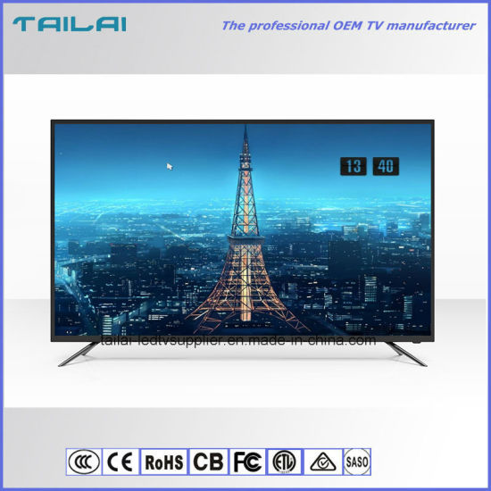 """OEM 43"""" FHD Smart WiFi LED TV with Andorid 4.4/7.0 System 4/8GB Flash"""