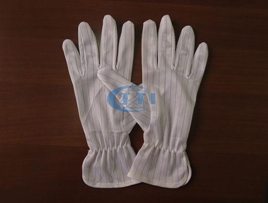 Antistatic Gloves 1.0 Strip with Elastic Ribbon Cuff