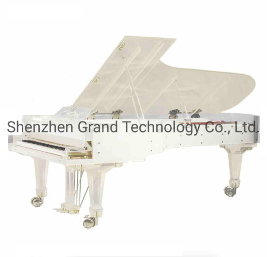 Luxury Acrylic Piano Crystal Grand Piano with Digital Piano Disc Playing System