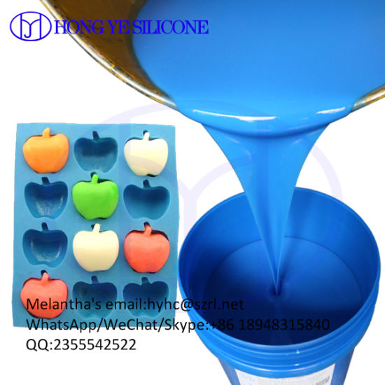China Platinum Cure Food Grade Silicone Rubber for Chocolate