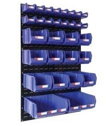 Plastic Stackable Collapsible Storage Bin Container Boxes