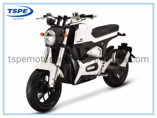Electric Street Motorcycle Motorbike 72V30ah 75km/H 12-Inch 1500W pictures & photos