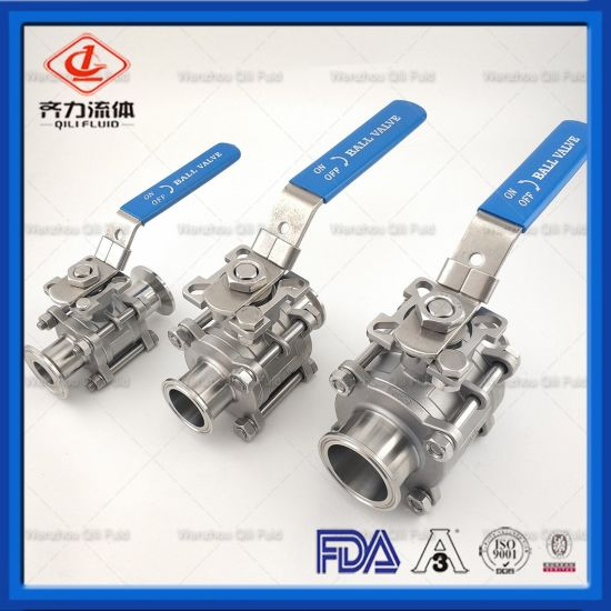 Sanitary High Platform Ball Valve for Brewery Industry