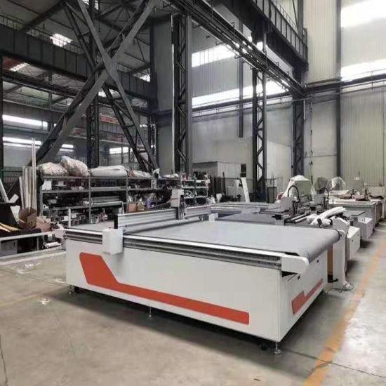 CNC Floor Carpet Making Vibrating Oscillating Cutting Machine for Gasket Rubber Mat