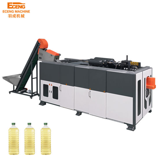 Full-Automatic Pet Injection Plastic Water Bottle Blow Moulding Machine with Ce