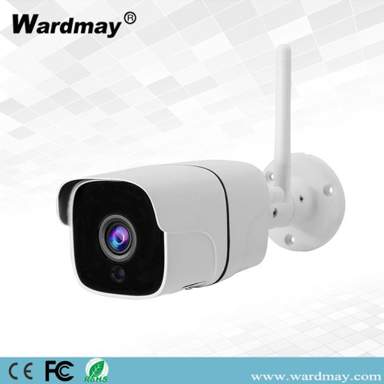 Wireless WiFi H. 265 CCTV 5.0MP Waterproof Day & Night Sony Chipest IR Bullet IP Camera pictures & photos