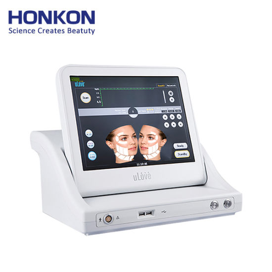 Newest Portable High Intensity Focused Ultrasound 3D Hifu Machine for Home Use