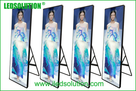 Indoor P2 0.64mx1.92m Poster LED Display Screen pictures & photos