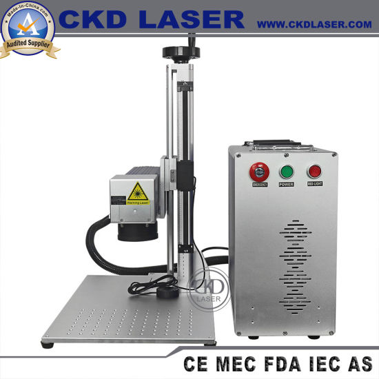 High Speed Portable Fiber Laser Marker for Model Number Mark Ce Certification pictures & photos