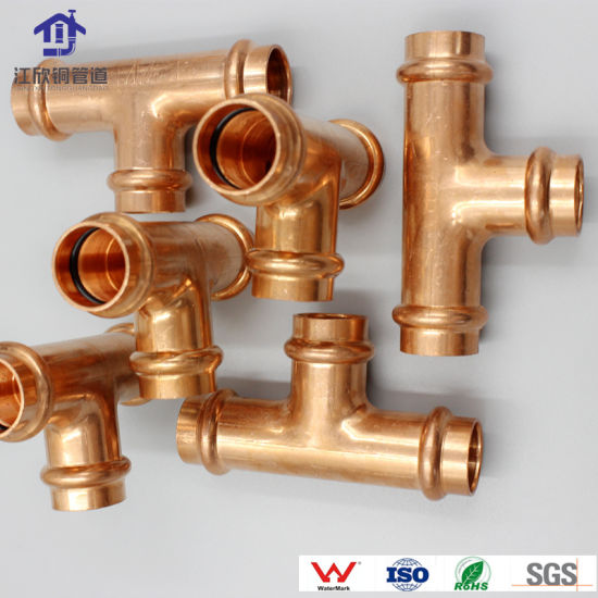 Copper Press Reducer Coupling Plumbing Fittings Watermark Approved Connector