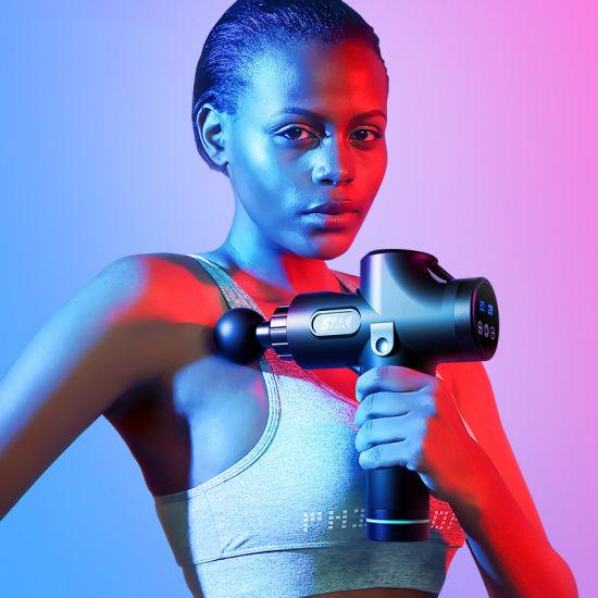 Fascia Gun Muscle Massage Gun Fitness Muscle Relaxer Electric Shock Grab Deep Vibration Gun Recovery Movement