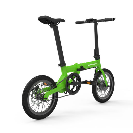 Pretty Lady 16 Electric Folding Bicycle for City