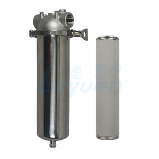 Stainless Steel Filter Housings Single Core Water Filter for Bottle Water Filtration