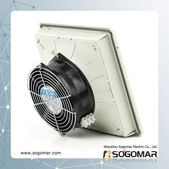 Axial Fan Set Metal 172X150mm with Plastic Filter and Metal Guard