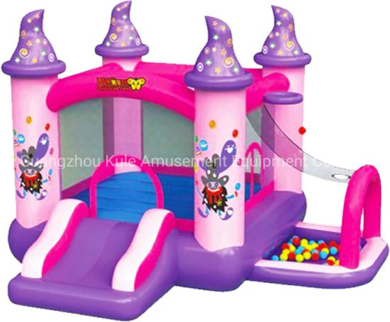 Pink Memory Inflatable Toy Small Jumping Bouncy Castle pictures & photos