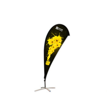 Factroy Wholesale Custom Promotional Feather Digital Printed Advertising Banner Flags