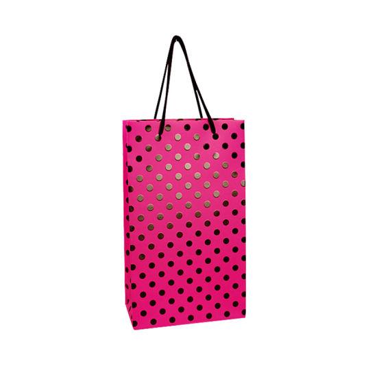 Customized Hot Foil Stamping Logo Paper Bag
