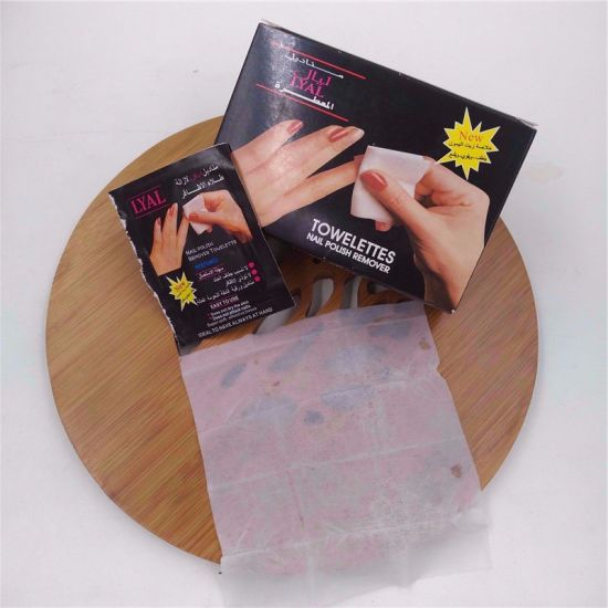 China Hot Selling Nail Polish Remover Wet Wipe China Nail Color Remover And Nail Polish Remover Wipes Price