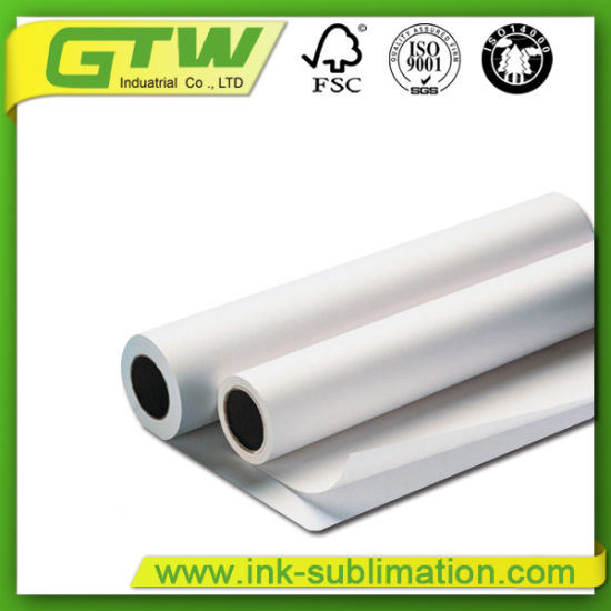"""36""""100GSM Heat Transfer Sublimation Paper for Sublimation Transfer Printing"""