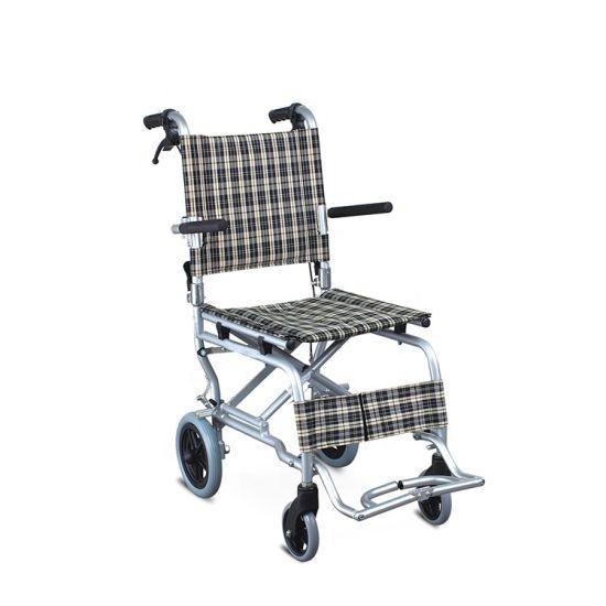 China Airplane Wheelchair United Brake and Safety Seat Belt